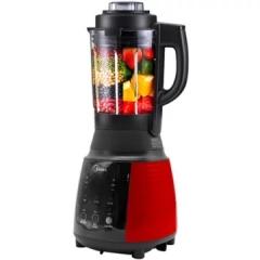 美的(Midea) MJ-BL8008A 破壁机预约家用多功能全自动加热料理机 红色