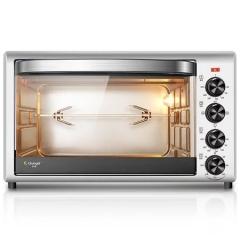 长帝烤箱(changdi) 电烤箱 TRTF32 家用32升 上下独立控温 带转叉照明灯