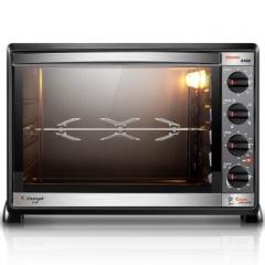 长帝(changdi)52升L大容量转叉不沾内胆电烤箱CKTF-52GS