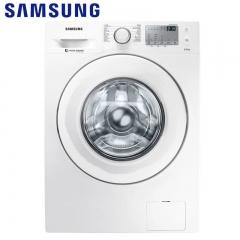 三星洗衣机(SAMSUNG) WW80J4233KW/SC 8公斤静音全自动智能变频滚筒洗衣机 白色
