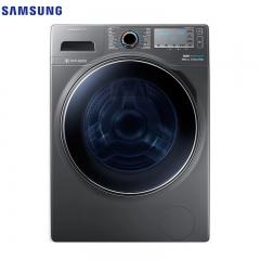 三星洗衣机(SAMSUNG) WW80J6210DX/SC 8公斤泡泡净变频滚筒洗衣机(钛晶灰)