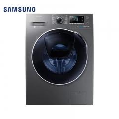 三星洗衣机WD90K6410OX 9公斤9公斤洗烘 黑水晶系列 安心添衣 泡泡净技术
