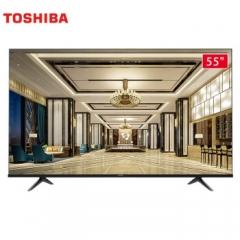东芝电视 55C240F 55英寸4K超高清 悬浮全面屏液晶电视1.5GB+16GB