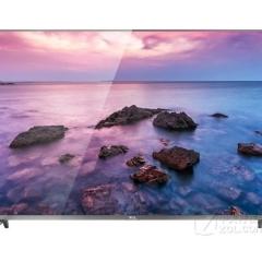 TCL电视55寸 55p4  4k高清,全金属银质边框,全生态HDR