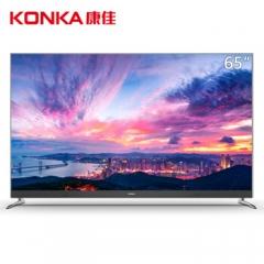 康佳电视 LED65F1 65英寸4K超高清64位36核人工智能语音液晶电视机 蓝牙4.2