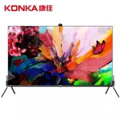 康佳电视LED55R3 55英寸 4K高清 升降摄像头 远场语音 AIOT第二屏 智慧屏