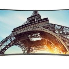 长虹电视 55Q3EU 55英寸液晶智能电视超薄网络曲面电视机4K超高清彩电