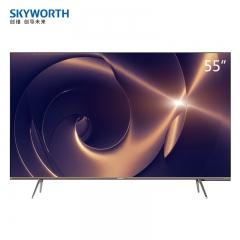 创维电视(Skyworth)55Q30 55英寸4色4K Ai语音