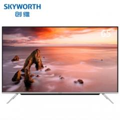 创维电视65英寸 65G30 4K超薄超高清 全时AI HDR窄边框LED网络智能液晶超薄电视机